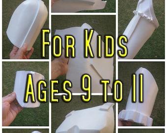 Kids Stormtrooper Armor Foam Templates Cosplay Costume