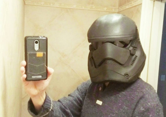 First Order Stormtrooper Helmet Foam Templates Cosplay Costume