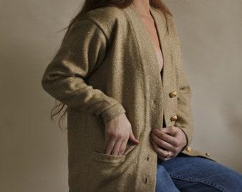 219fbf35adb0a2 gold knit metallic sweater