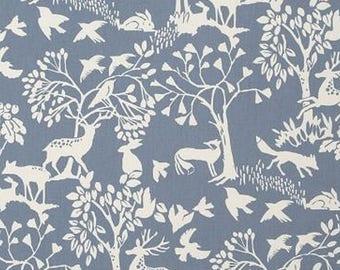 English Clarke and Clarke Vilda chambray fabric