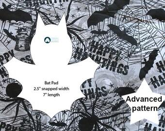 Novelty cloth pad pattern: Bat Pad + instructions