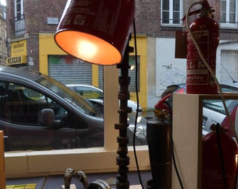 floor lamp, recycled materials