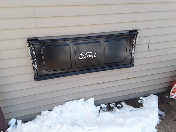 1948-1950 Ford  truck metal man cave sign garage art