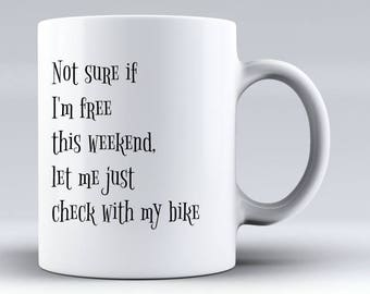 Bike MugGift For CyclistBike Gifts Cycling MugBicycle Giftscyclist Gift Funny Coffee MugRiding Mug MenMug Women