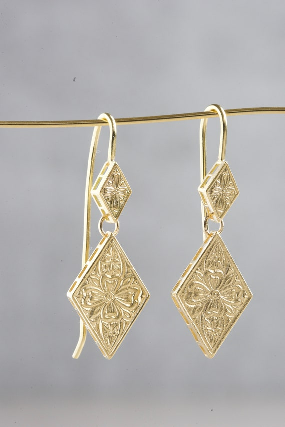 Afghan Drop Dangle Earrings Jewellery Authentic Ethnic Fashion Costume Statement