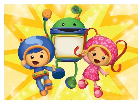 Team Umizoomi Iron On Transfer 4 25x6, Team Umizoomi Toddler Bedding