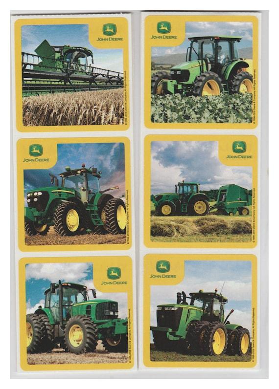 25 John Deere Stickers 25 X 25 Etsy