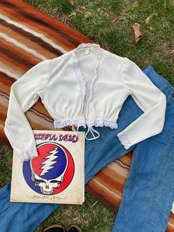Vintage Benetton Prairie Blouse