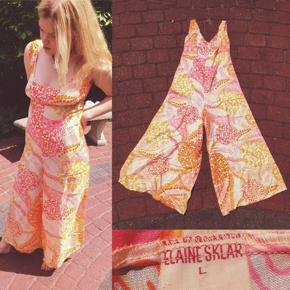 60s/70s Psychedelic Jumpsuit