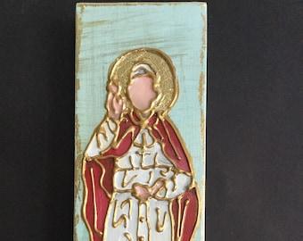 4 x 12 Inch St. John Paul the II
