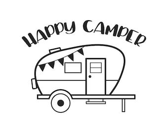 Camping Clip Art Etsy Studio Rh Etsystudio Com Pop Up Camper Trailer