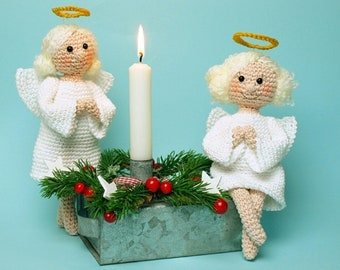 Crochet Instructions Angel - PDF file