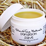 Dandelion Salve-Natural Skincare, Stiff Joints & Muscles, Aches, Pains, All-Natural, Helps Rough Dry Skin, Natural Products,  Free Shipping
