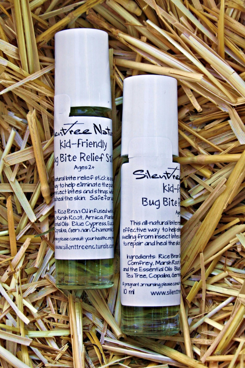 Kid-Friendly Bug Bite Relief Stick-All-Natural Safe for Ages image 0