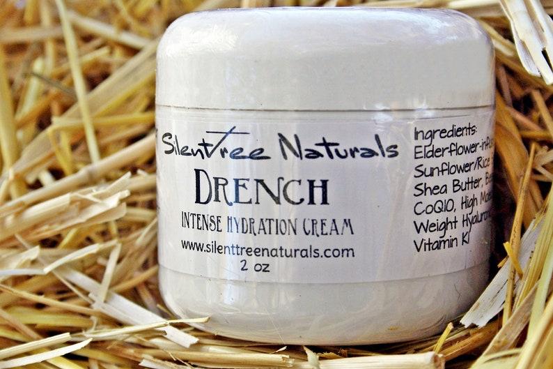 Drench Intense Hydration Cream  2 oz  Natural Skincare Skin image 0