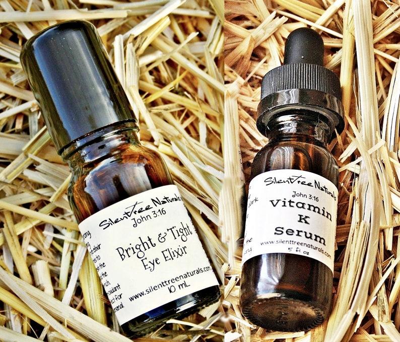 Vitamin K Serum Bright & Tight Eye Elixir Set-Dark Circle image 0