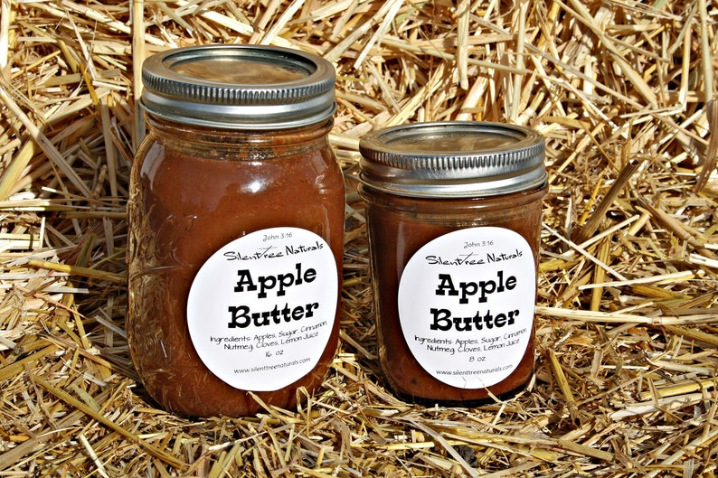 Apple Butter-All-Natural Old Fashioned Slow Cooked Low image 0