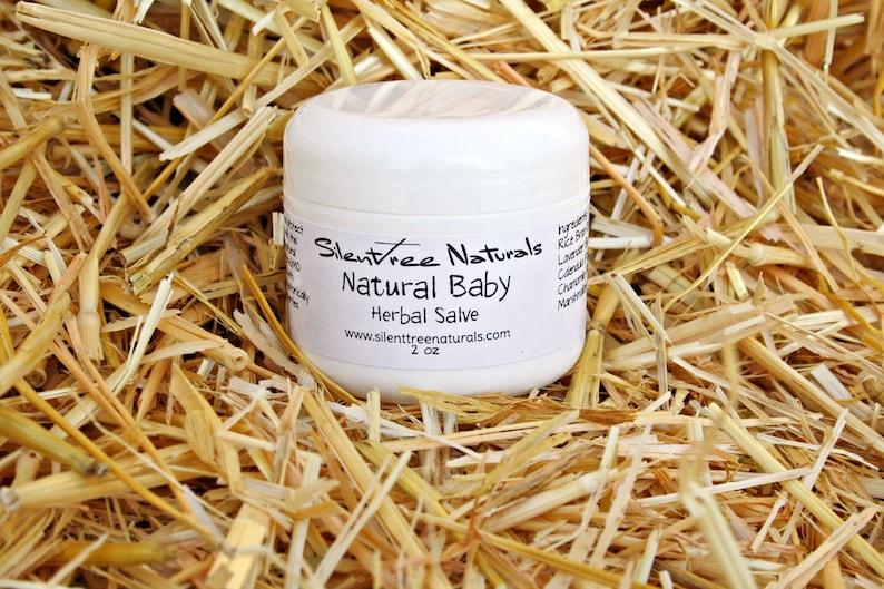 Natural Baby Herbal Salve-2 image 0