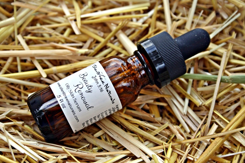 Oily Skin Serum Natural Skincare Beauty Renewal For Oily image 0