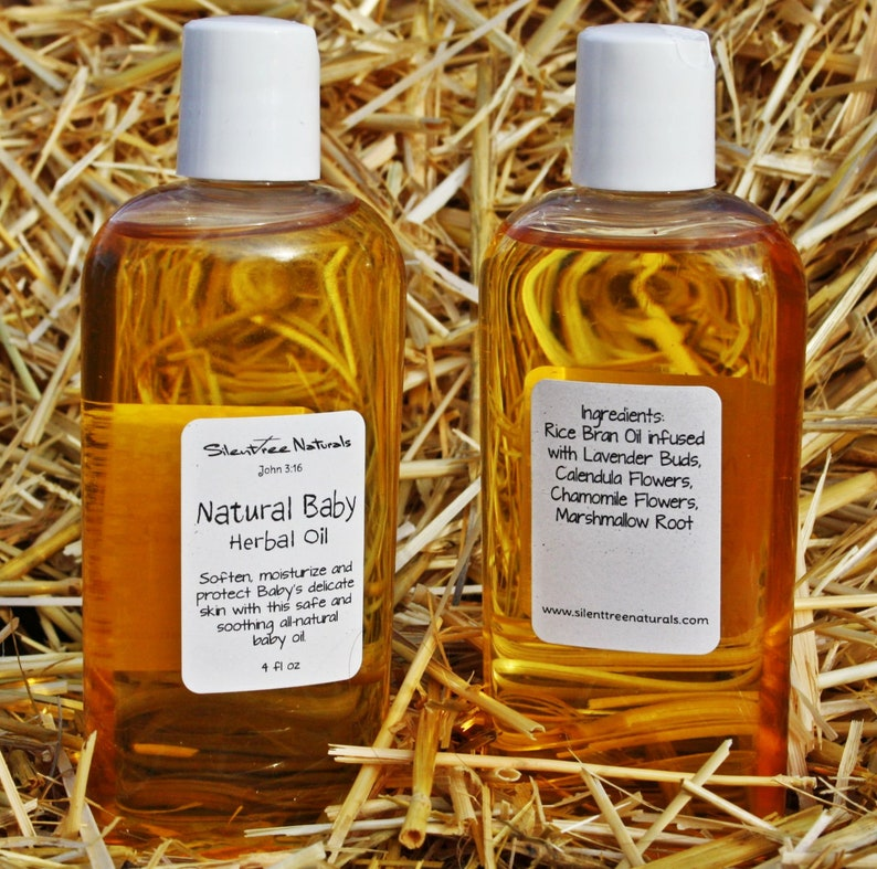 Natural Baby Herbal Oil-4 fl image 0