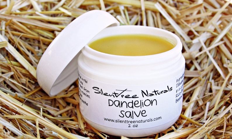 Dandelion Salve-Natural Skincare Stiff Joints & Muscles image 0