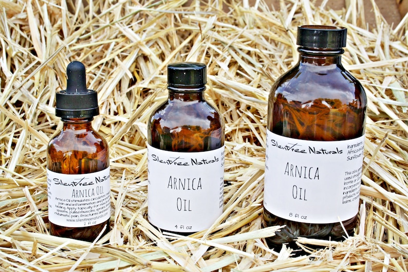 Arnica-infused Oil  Natural Health Muscle Aches & Spasms image 0