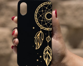 Iphone case Wooden Engraved Iphone X Case Beautiful Gift for here unique,beautiful Dandelion IPhone X Case Engraved Iphone X case