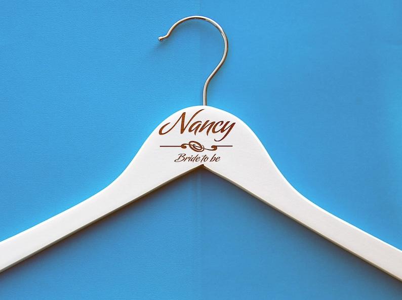 Wedding dress hanger Bride dress hanger,name hanger,customize hanger for dress,dress hanger,Engraved hanger,wooden engrave wedding memory
