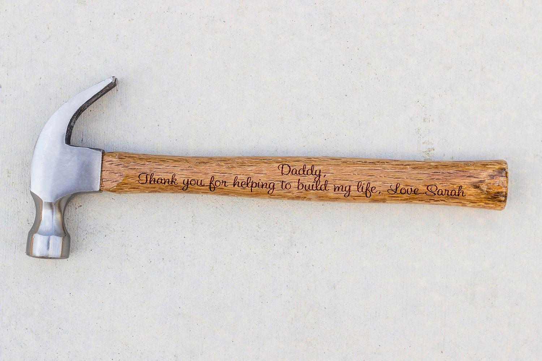 Personalisierte Hammer Vatertagsgeschenk Hammer | Etsy