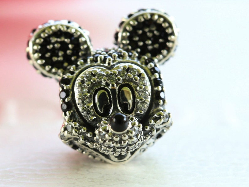 79b3fae62 USA GENUINE NEW Authentic Pandora Disney Sparkling Mickey | Etsy