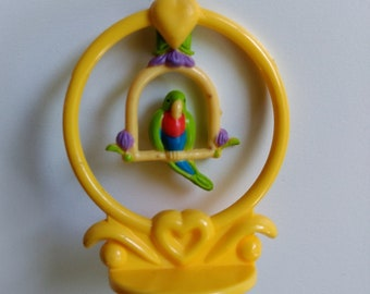 Vintage Charmkin/Crocus with Stand/Miniature Figurine/Jewelry Charm/Collectible Toy