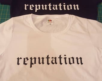 53caa1b473c Taylor Swift Reputation tour T-shirt Women s and children s.
