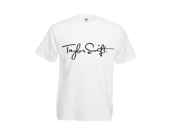 e2249946 Taylor Swift signature inspired t-shirt.