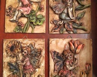 3D Scary Creepy Horror Fairy OOAK plaques