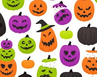 Halloween Pumpkin PNG Clipart - Autumn Jack O Lantern Ghost Witch Skeleton Fall Pumpkin Clip Art - Commercial Use
