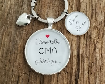 """Keychain """"Great Granny"""" Personalized"""