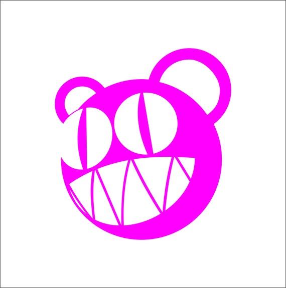 3/'/' 5/'/' or 6/'/' Radiohead Music Logo Car Bumper Sticker Decal