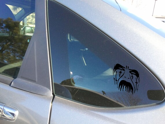 King Diamond Crosses Inspired Vinyl Decal Window Sticker 4/""