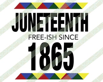 Juneteenth Freedom SVG
