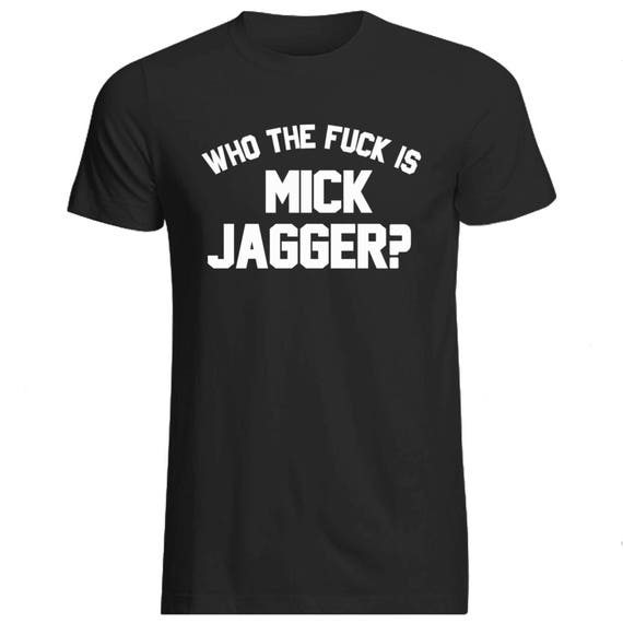 rolling stones kids t-shirt Who the Fudge is Mick Jagger