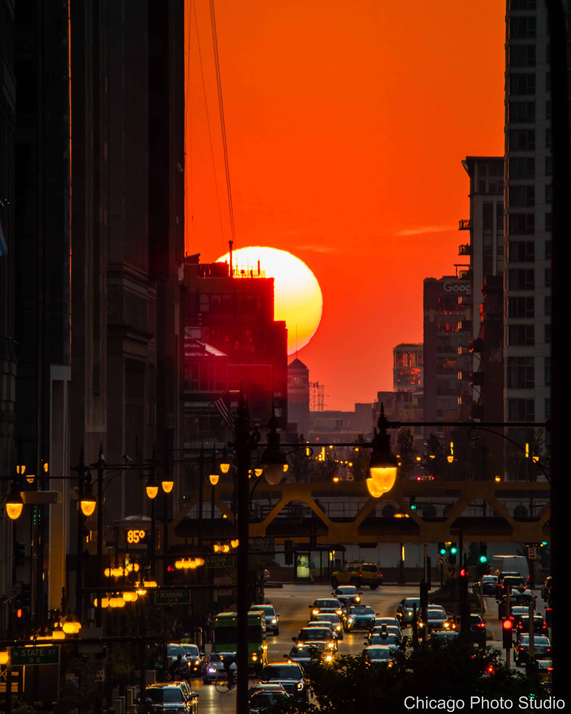 Chicagohenge Chicago photography Color Photography | Etsy