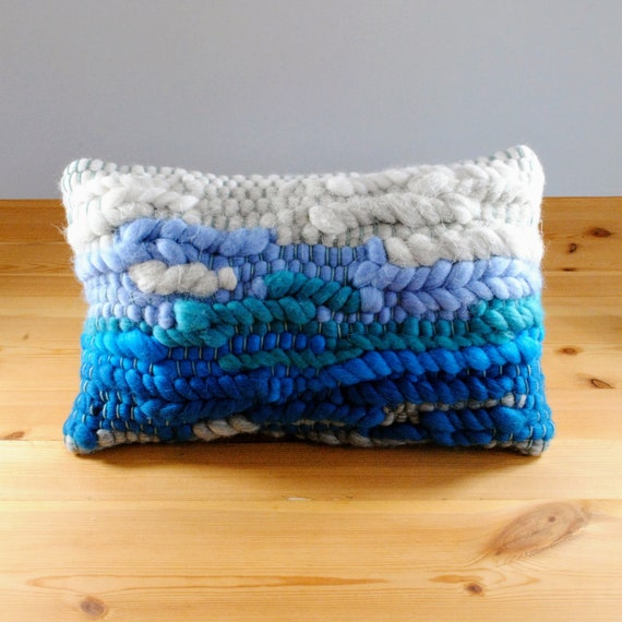 Rectangular Handwoven Cushion