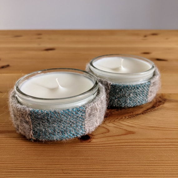 Small Glass Jar Candle (Pine)