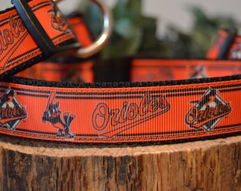 Baltimore Orioles Dog Collar