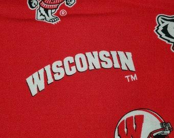 Comfy Contoured Neck Pillow - University of Wisconsin Badgers