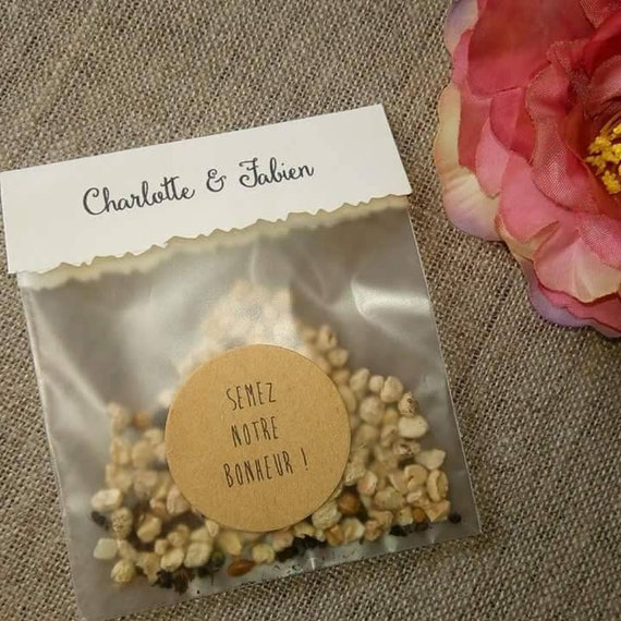 Seed Packets Seeds To Sow Guest Gifts Gifts Wedding Etsy