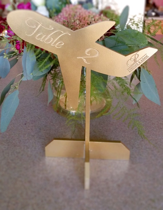 Table Decorations African American Aviator Flying Party Centerpieces Personalized Airline Table Centerpiece Pilot Decor