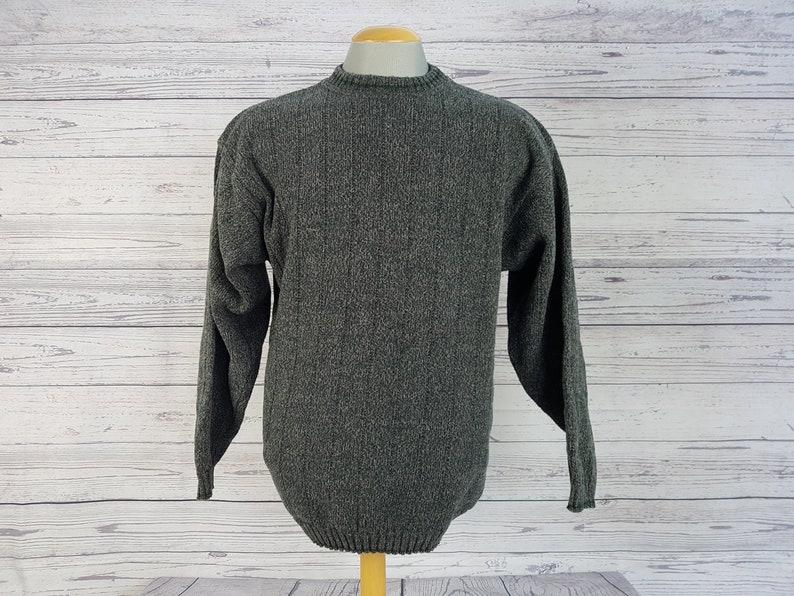 Vintage Tip Top Sweater Men/'s Medium M Green Pink Knit Pullover Grandpa Boyfriend Shirt Cotton and Acrylic Unisex Fall Jumper