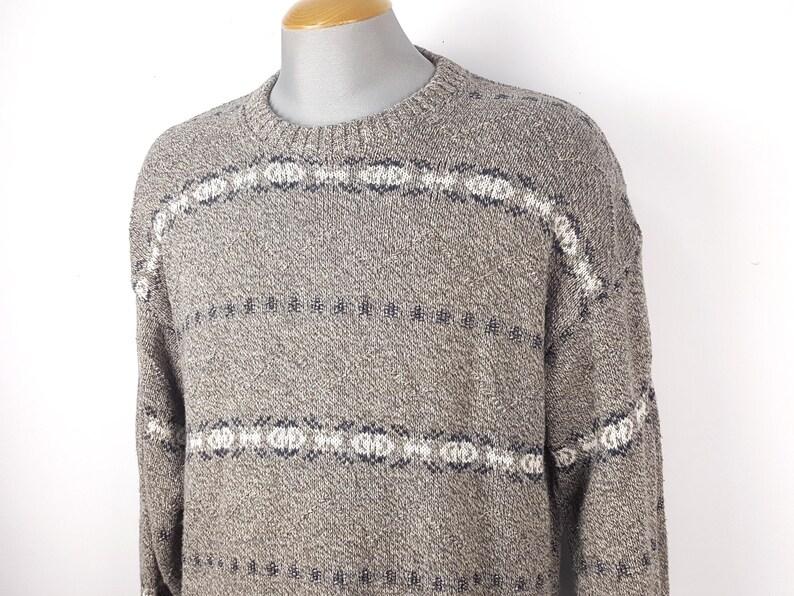 b492612eb Vintage 90s Timberbay Sweater Men's Large L Stripe   Etsy