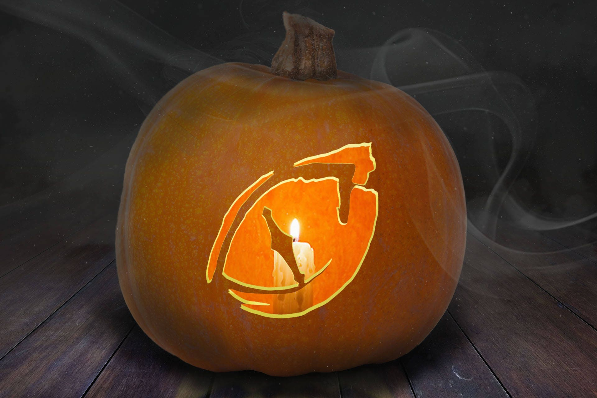 dragon eye pumpkin carving stencil printable